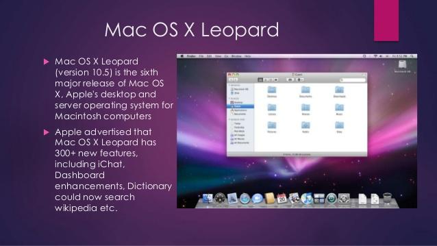 mac-osoperating - Mac