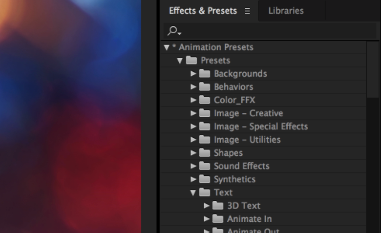 Effects-and-Presets