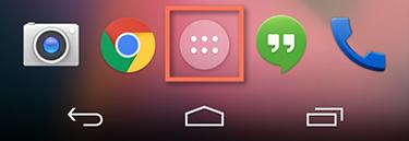 شروع کار با دستگاه Android-برنامه های اصلی