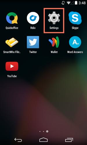 اصول اولیهAndroid-شروع کار با دستگاه Android