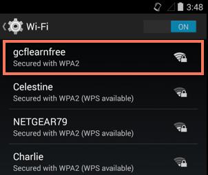امنیت و حریم خصوصی در اندروید-Wi-Fi
