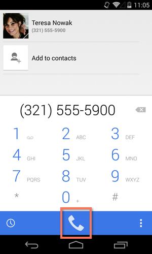وظایف مشترک-دکمه تلفن