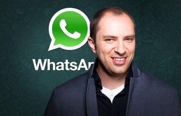 جان کوم سازنده و مدیر عامل واتساپ ( دوره آموزش واتساپ WhatsApp )
