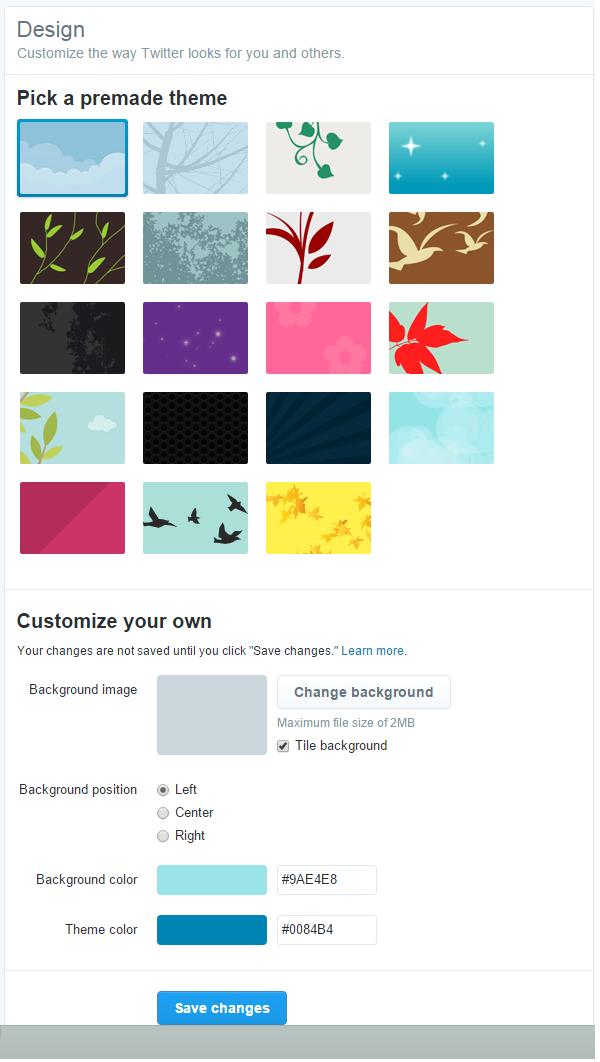 موارد لازم برای تغییر ظاهر صفحه توییتر ( ایجاد حساب توییتر و مدیریت پروفایل توییتر )