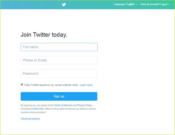 ساخت حساب کاربری در توییتر ( ایجاد حساب توییتر و مدیریت پروفایل توییتر )