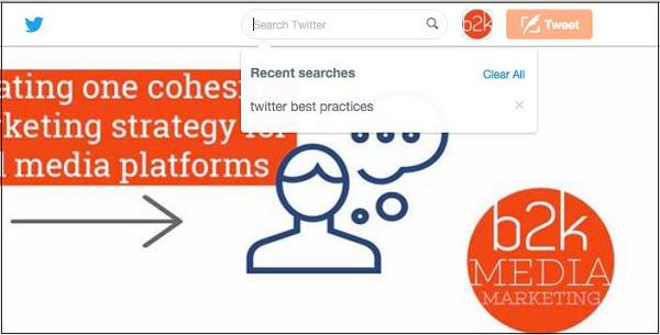 جستجو در توییتر ( بهترین روش های جستجو در توییتر )